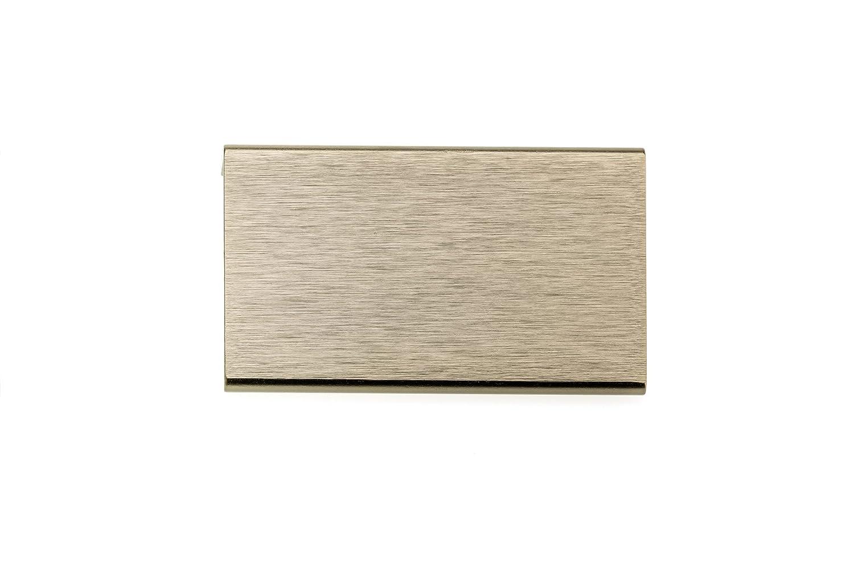 9898-50 mm Champagne Bronze  Finish Richelieu Hardware Contemporary Aluminum Edge Pull BP989850CHBRZ