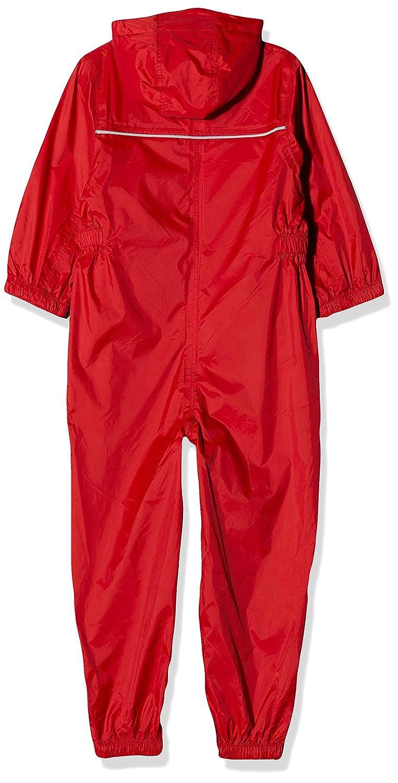 WYTbaby Bambini Tuta Impermeabile Abbigliamento sportivo Ragazzi e Ragazze Pioggia Complessivamente con Cappuccio Giacca