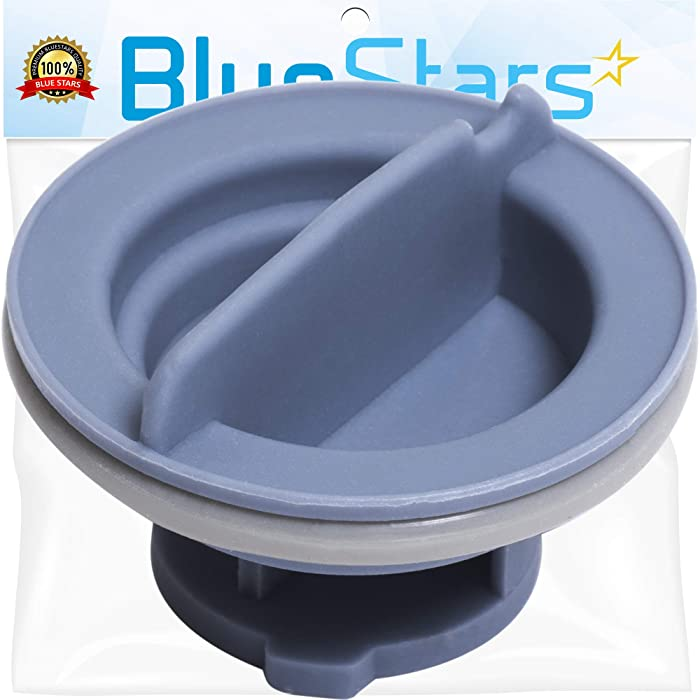 [UPGRADED] Ultra Durable 8558307 Dishwasher Dispenser Cap Replacement Part by Blue Stars – Exact Fit For Whirlpool Dishwashers - Replaces WP8558307 8193984 8539095