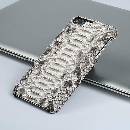 LANGSIDI Funda de cuero genuino para iPhone 7 Plus Funda Vintage