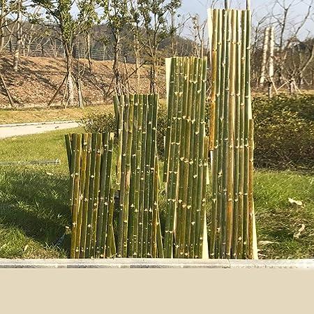 SUBBYE Cerca De Piquete De Jardín Extensible De Bambú, 71 Pulgadas, Césped, Flores, Césped, Flores, Bordes De Plantas, Bordes De Paisaje Al Aire Libre, con Columna, 5 Tamaños (Size : 180×90cm): Amazon.es: Hogar