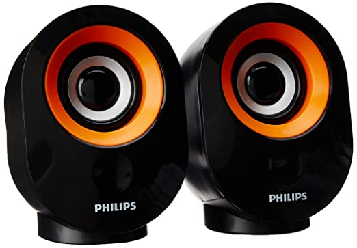 Philips SPA50G/94 2.0 Channel Speakers Multimedia Speaker Systems