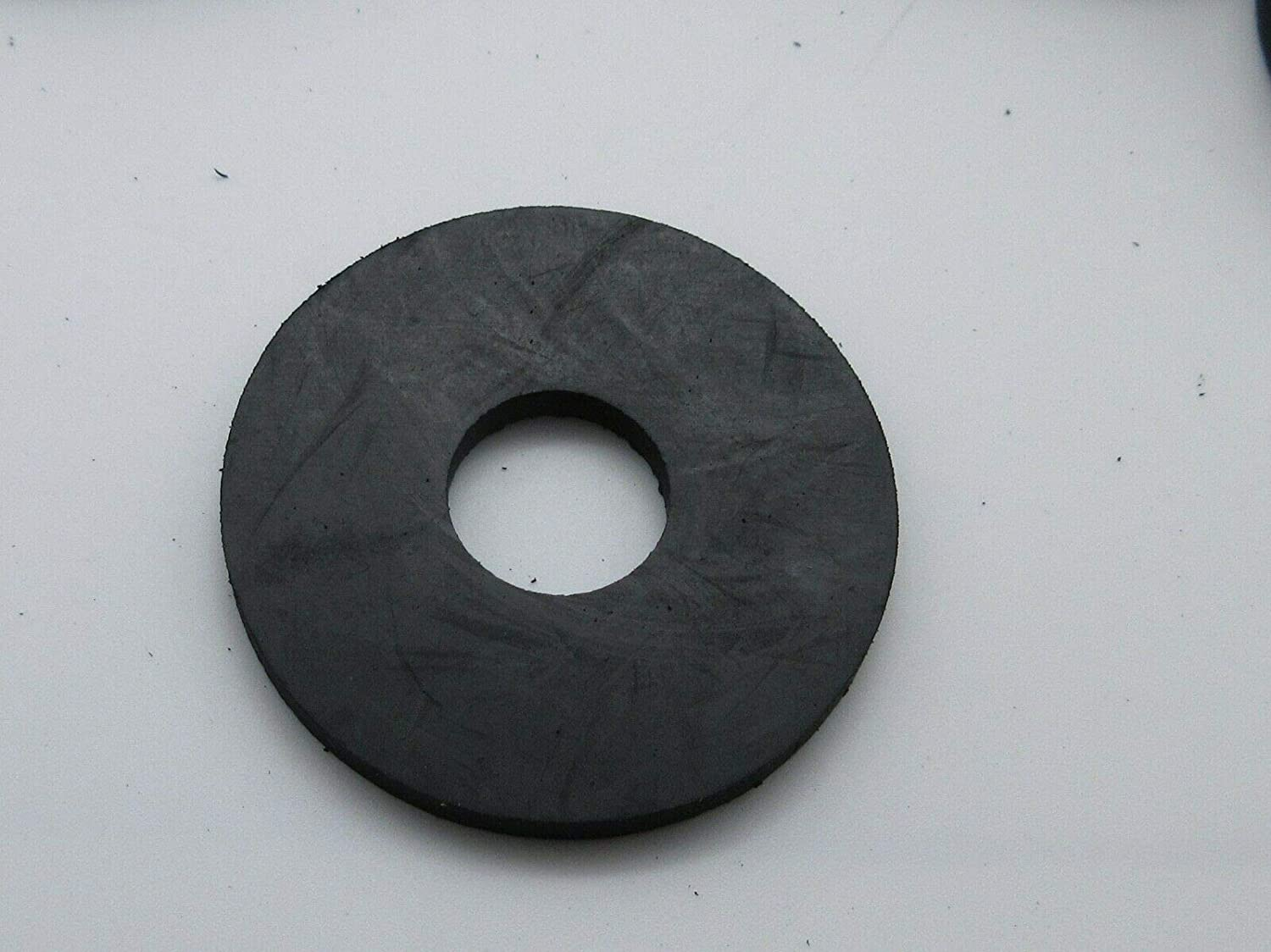 Rubber Washer 1 1//2 OD x 1//2 ID x 1//8 Thickness Black Large Flat Round 25
