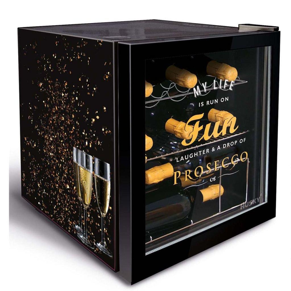 Husky Minikühlschrank Kühlbox Minibar Kühlschrank EEK A+ 45,8 L KK50 ...
