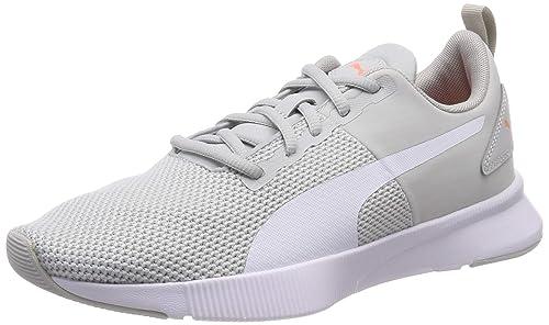 low priced 1c048 405f3 Puma Women Running Flyer Runner Grey Sports Shoes