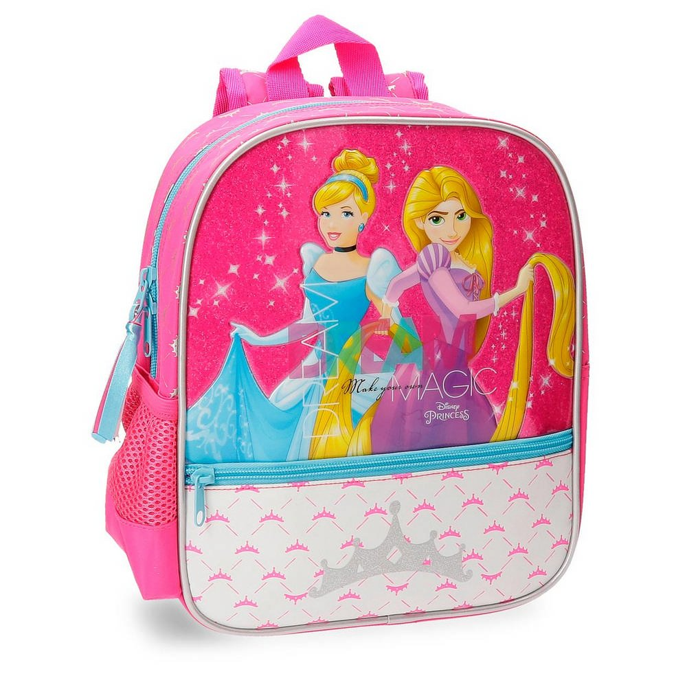 Amazon.com | Disney Princess childrens backpack, 28 cm, 6.44 liters, pink | Kids Backpacks