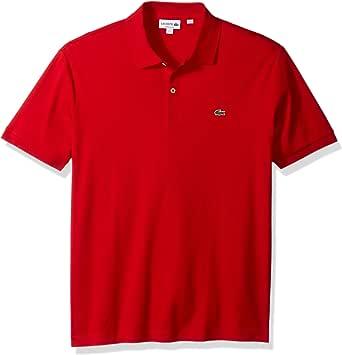 Lacoste Men's Short Sleeve Pima Jersey Interlock Regular