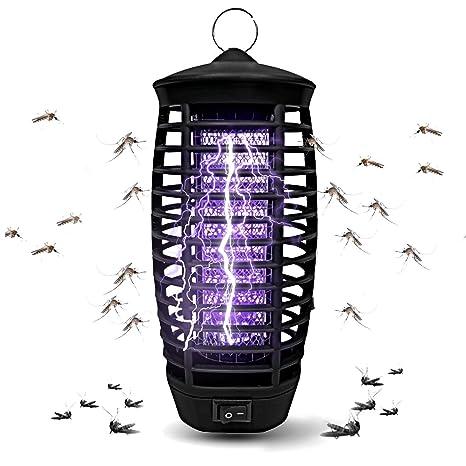 Fullsexy Lámpara Antimosquitos UV LED Eléctrico, Lámpara Mosquitos para Matar Mosquitos y Insectos (z2)