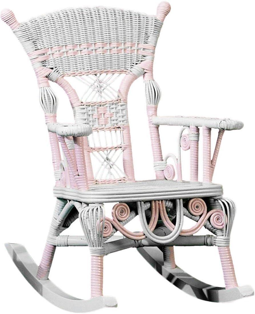 Spice Islands Child's Millie Rocker, Pink/White