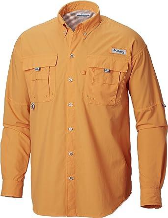 Columbia Sportswear Men's Bahama II Long Sleeve Shirt, Koi