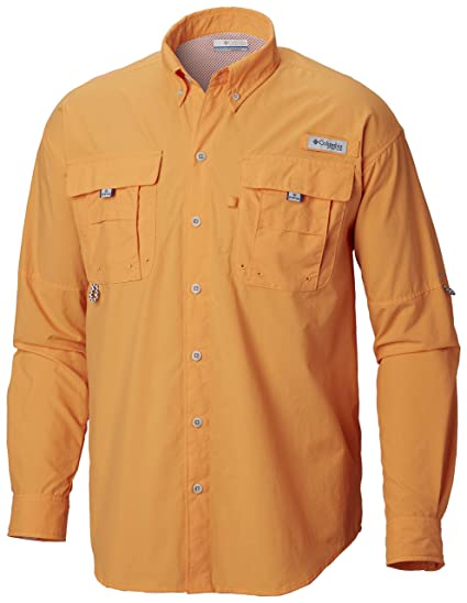 fbdc1aafc12 Amazon.com: Columbia Men's PFG Bahama II Long Sleeve Shirt, Breathable with UV  Protection: Clothing