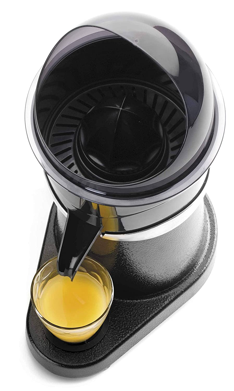Lacor - 69286 - Exprimidor Eléctrico Profesional 180 W 1350rpm - Negro: Amazon.es: Hogar