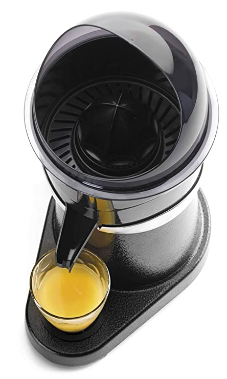 Lacor 69286 Exprimidor Zumo de Naranja eléctrico Profesional, Acero Inoxidable, Libre de BPA, 180 W, Aluminio Fundido: Amazon.es: Hogar