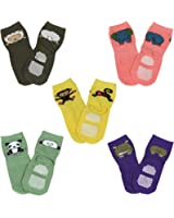 Wrapables Animal Fun Non-Skid Baby Socks