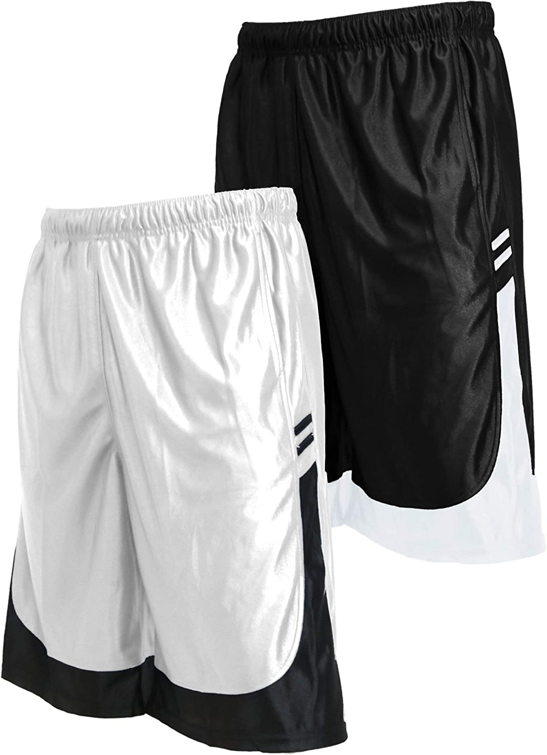 OLLIE ARNES Gym Shorts for Men Basic Active Athletic Dazzle Performance Short with Pockets