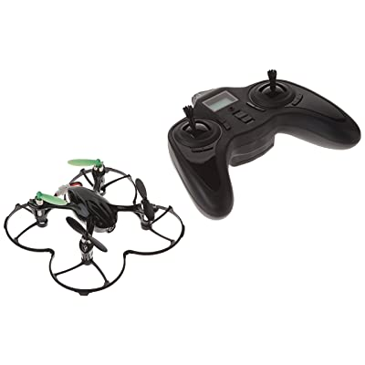 Hubsan X4 (H107C) 4 Channel 2.4GHz RC Quad Copter with Camera - Green/Black: Toys & Games
