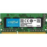 Crucial CT102464BF160B 8Go (DDR3L, 1600 MT/s, PC3L-12800, SODIMM, 204-Pin) Mémoire
