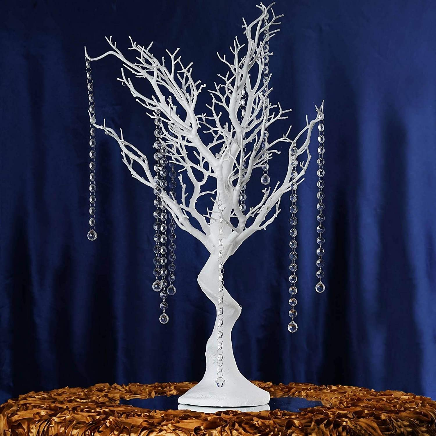 Tree manzanita Centerpiece *HIRE ONLY* Wedding Event Large Gold Wish
