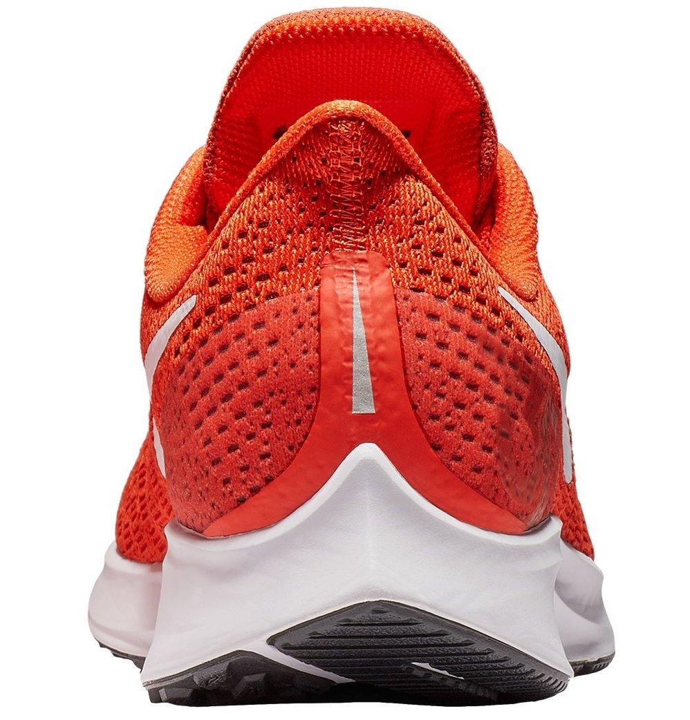 Nike Men's Air Zoom Pegasus 35 Running Shoe Orange/White/Black by Nike (Image #2)