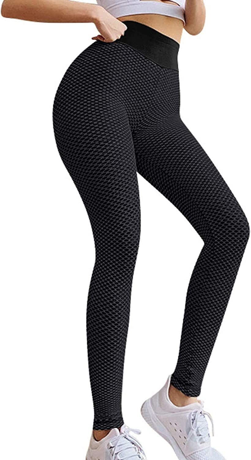 High Waisted Yoga Pants for Women Workout Tummy Control Pants Anti Cellulite Butt Lift Tights Famous TIK Tok Leggings
