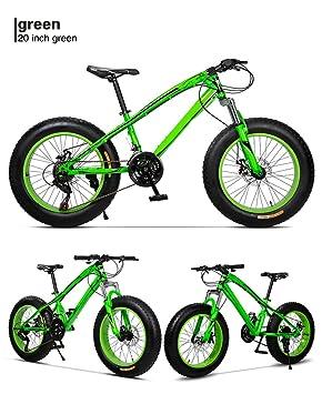 Yoli® 7 velocidad, 26 pulgadas Fat Bike/bicicleta de nieve, 4.0 ancho