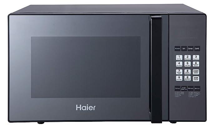 Haier 25 L Convection Microwave Oven (HIL2501CBSH, HAL2WBlack)
