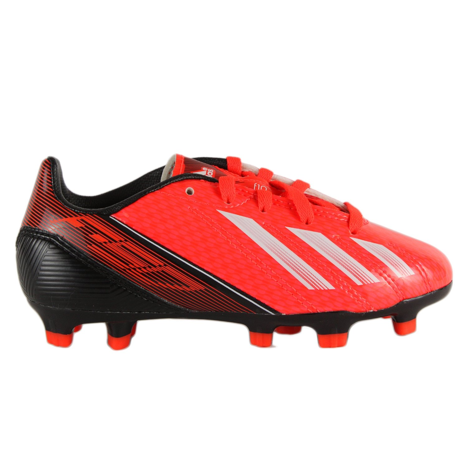 1db224eea4efa adidas F10 TRX FG Junior Soccer Cleats - Infrared/Running White/Black  (Boys) - 5.5