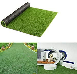 ZXMOTO Artificial Grass Turf Lawn 10'X6.6' (60 Square ft) Synthetic Turf Mat Indoor Outdoor Garden Lawn Landscape Faux Grass Rug with Drainage Hole