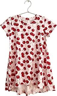product image for Esme Girl's Crew Neck Hi Low Dress S M L XL PT 4, 5, 6, 7, 8, 10, 12, 14