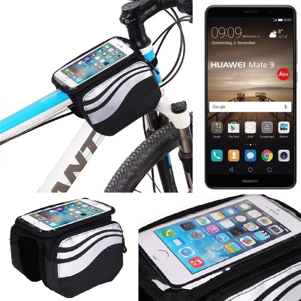 K-S-Trade Bolso Bolsa Funda Bicicleta para Huawei Mate 9, Teléfono ...