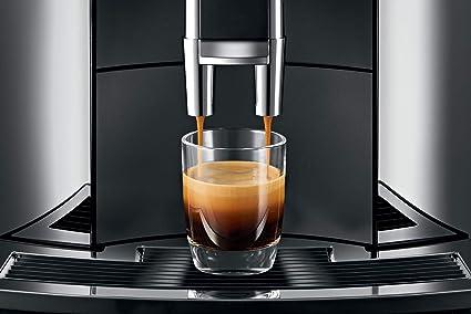 JURA E8 Independiente Máquina espresso Negro, Cromo 1,9 L 16 tazas ...