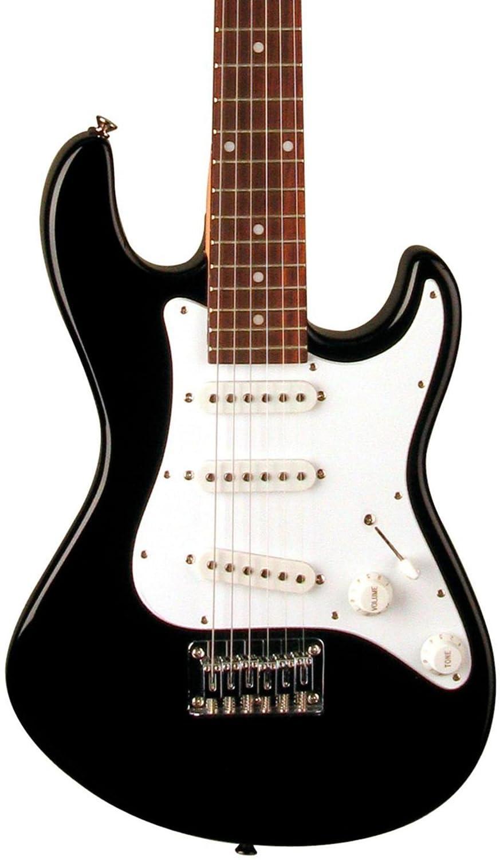 Dean Guitars AVJCBK Dean Avalanche Junior - Guitarra eléctrica (tamaño 3/4), color negro: Amazon.es: Instrumentos musicales