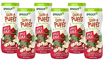 Sprout Organic Baby Food Sprout Quinoa Puffs Organic Baby Snack