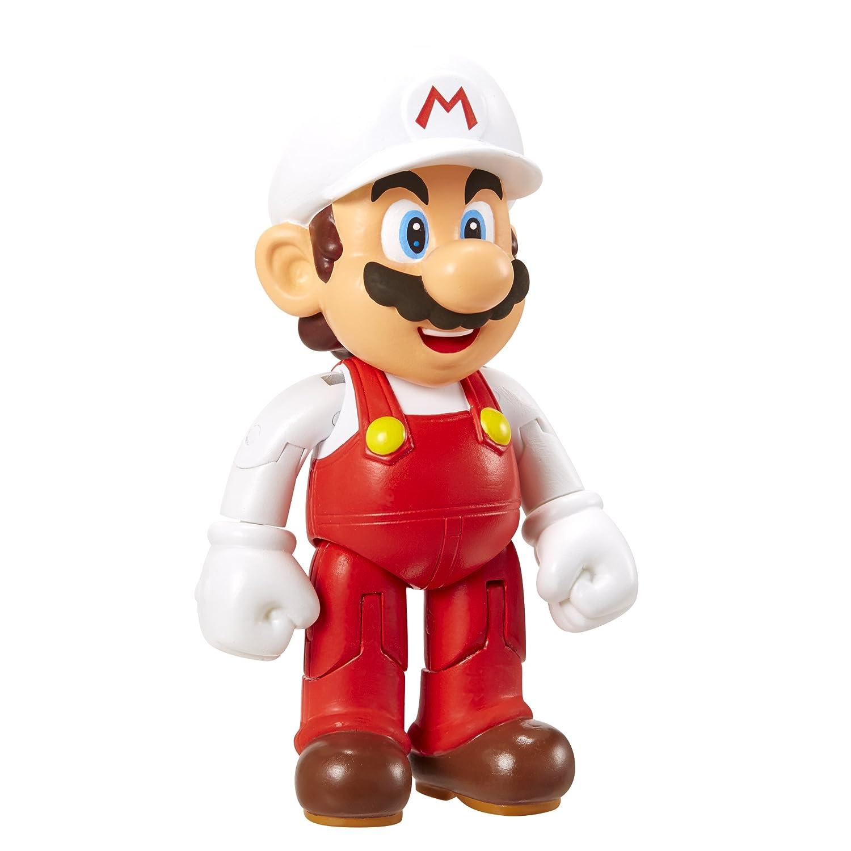 Nintendo - Figura Mario Con Fire Flower, 10 cm por solo 5,90€