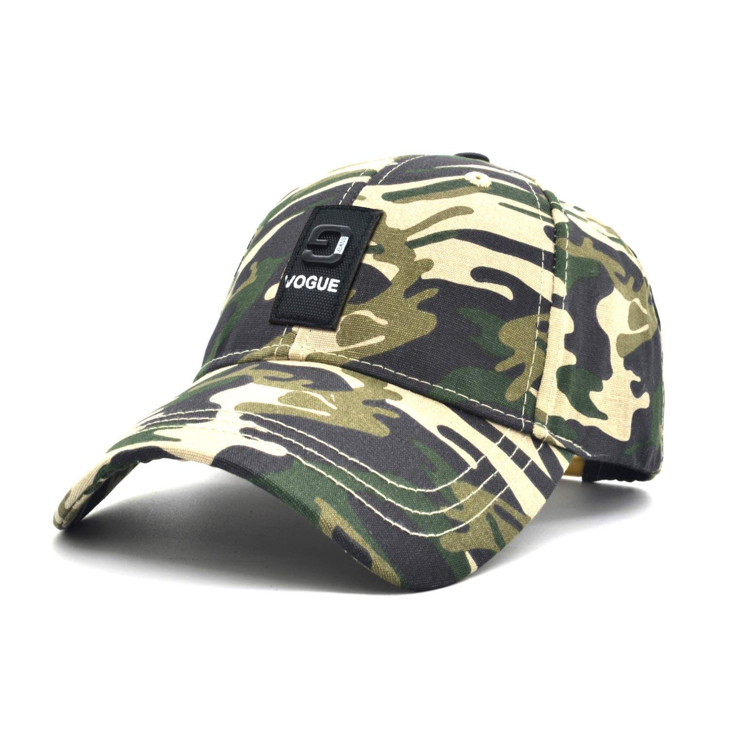 a903bd823b0 Low Profile Baseball Cap Novelty Army Green Unisex Women Trucker Hat Men  Sun hat Plain Cotton Cap Camo Adjustable Cap Outdoor Sport Hunt Cap (Army  ...