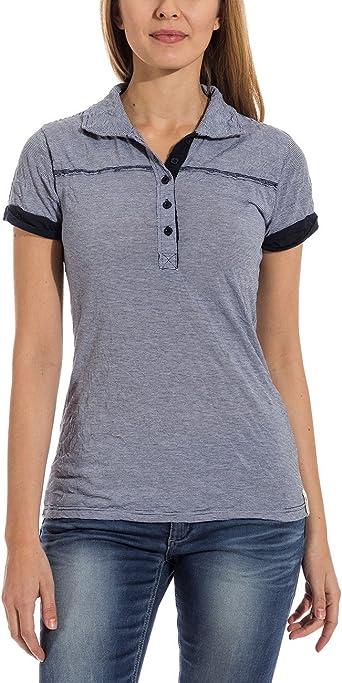 Timezone Polo Shirt Mujer: Amazon.es: Ropa y accesorios