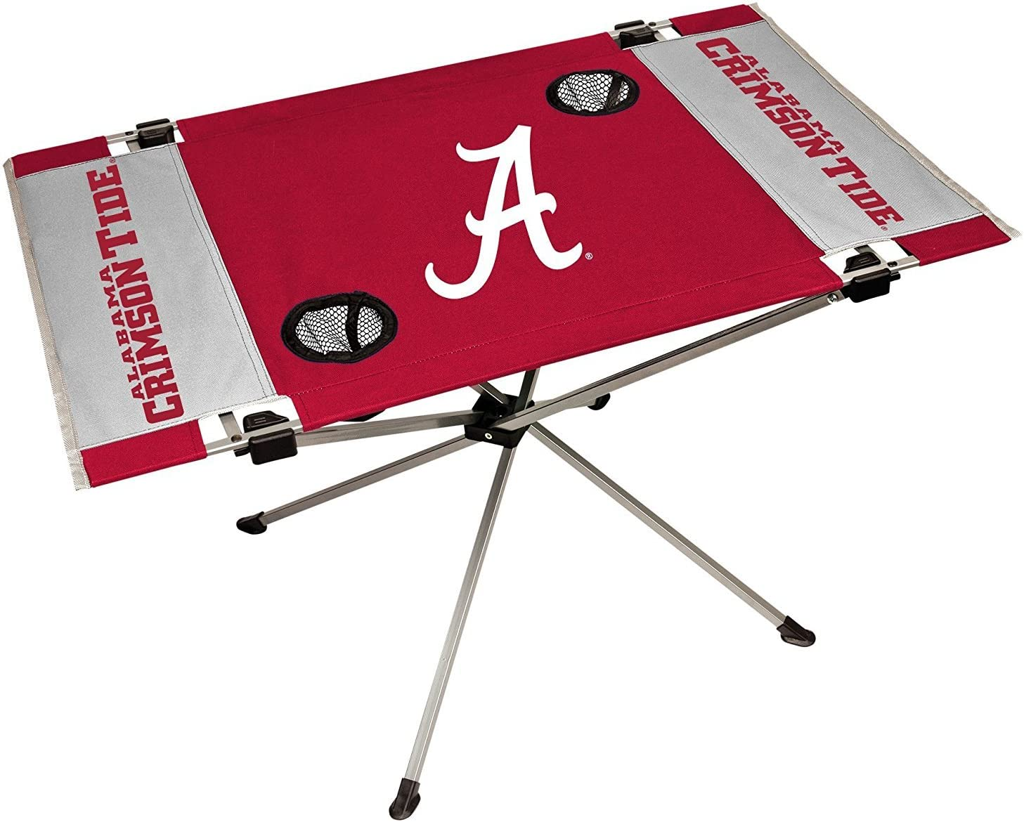 1 Table 9 x 9 Canopy 4 Chairs Jarden Sports Licensing NCAA Alabama Crimson Tide Tailgate Kit