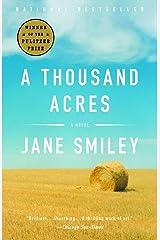 A Thousand Acres: A Novel Kindle Edition