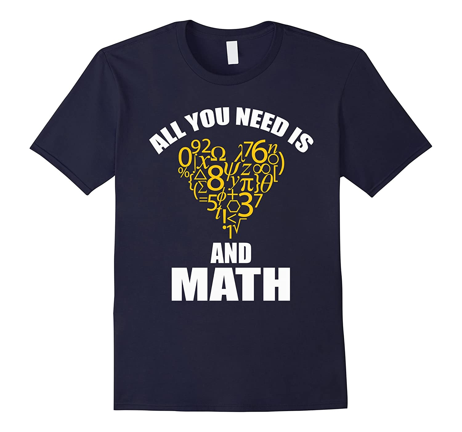 All You Need Is Love And Math Shirt-PL