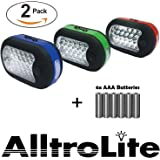 2x 27 LED Compact Work Light Magnetic W/hook - 2 Pack by AlltroLite