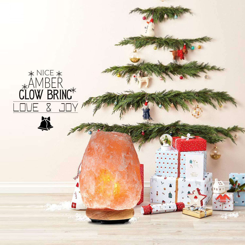 Himalayan Glow 1002 Pink Crystal Salt Lamp Salt Lamp (8-11 lbs) Salt Lamp (8-11 lbs) by Himalayan Glow (Image #7)