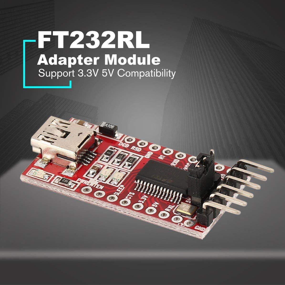 FT232RL FTDI USB 2.0 to TTL Serial Adapter Module for Arduino Mini Port 3.3V 5V