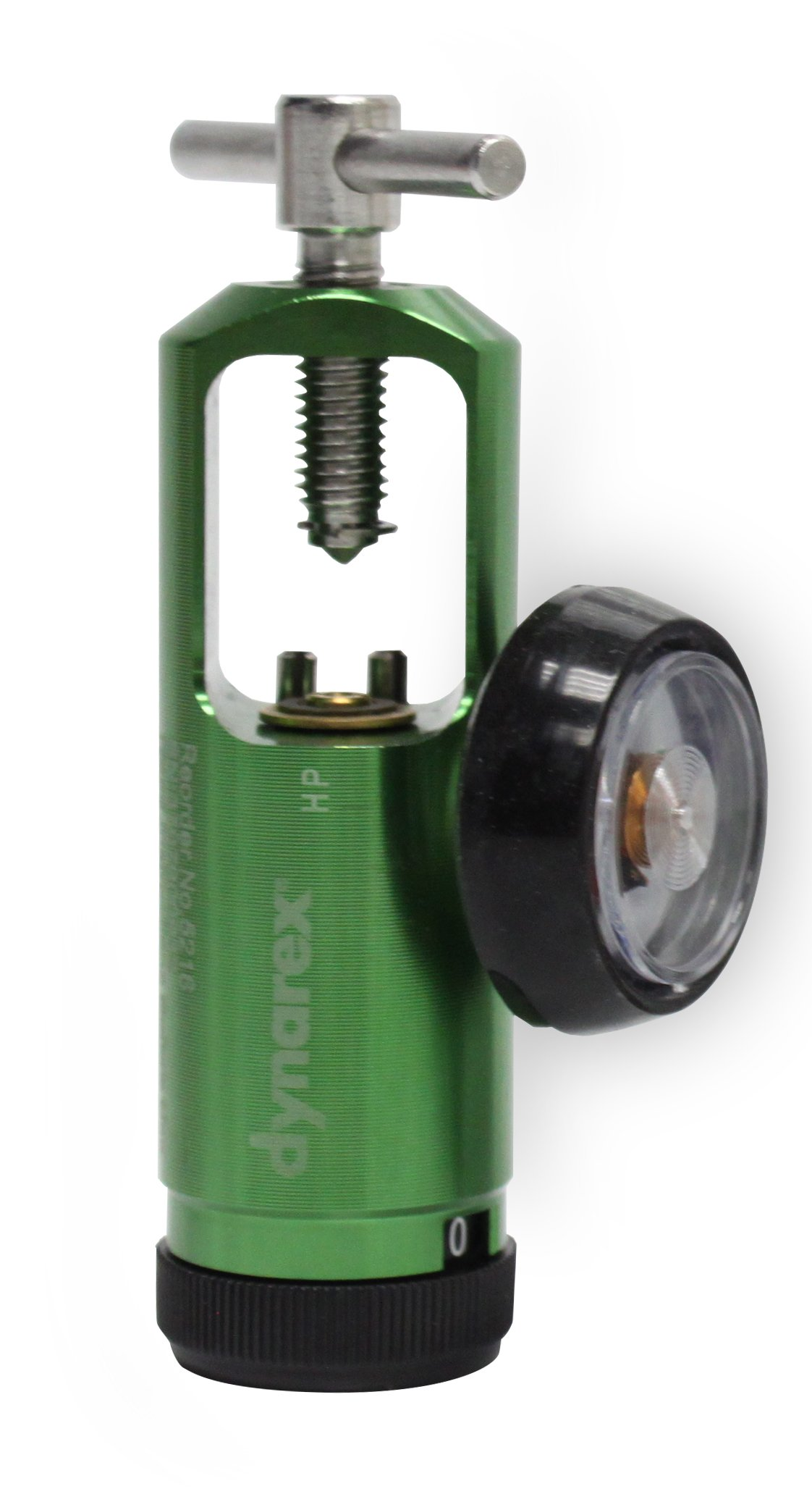 Dynarex Mini Oxygen Regulator, 0-15 Liters/Minute, 0.7 Pound