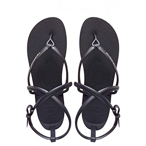 c3cf121df4156a WOMENS BLACK HAVAIANA H.GRACE BEACHWEAR SUMMER STRAP THONG FLIP FLOPS SIZE  UK 13 1  Amazon.co.uk  Shoes   Bags