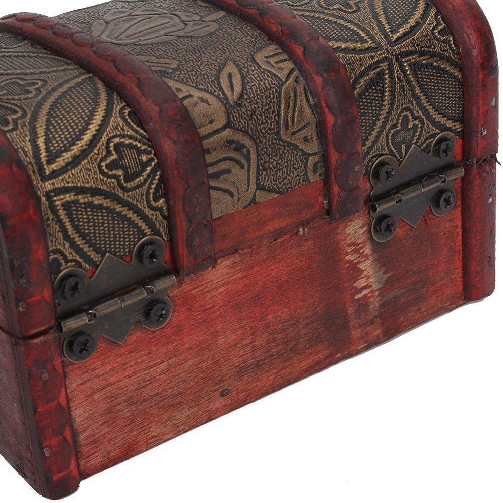 SODIAL 20 piezas Mini cajon de gabinete de mariposa Bisagra Bisagras con rodamiento de bolas Bisagra de la puerta