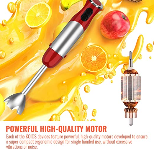 Motor Power of Koios Immersion Blender