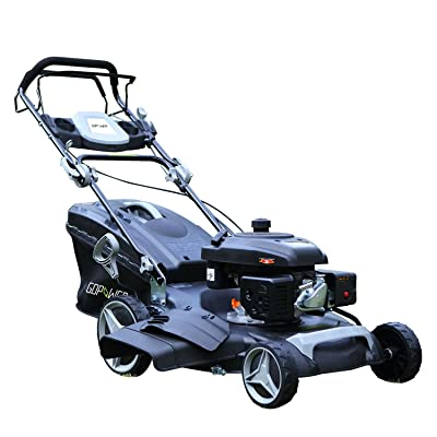 Suny Deals Gas Push Lawn Mower 3-in-1 Discharge Self Propelled Lawn Mower