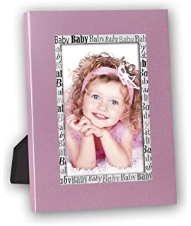 ZEP Jerry Pink - Portafotos de metal infantil de tamaño 10x15