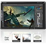 Huion GT-185 18.5 Inch Graphic Drawing Monitor with 8 Express Keys (2048 Pen Level, 5080 LPI, Glove and Screen Protector Included)