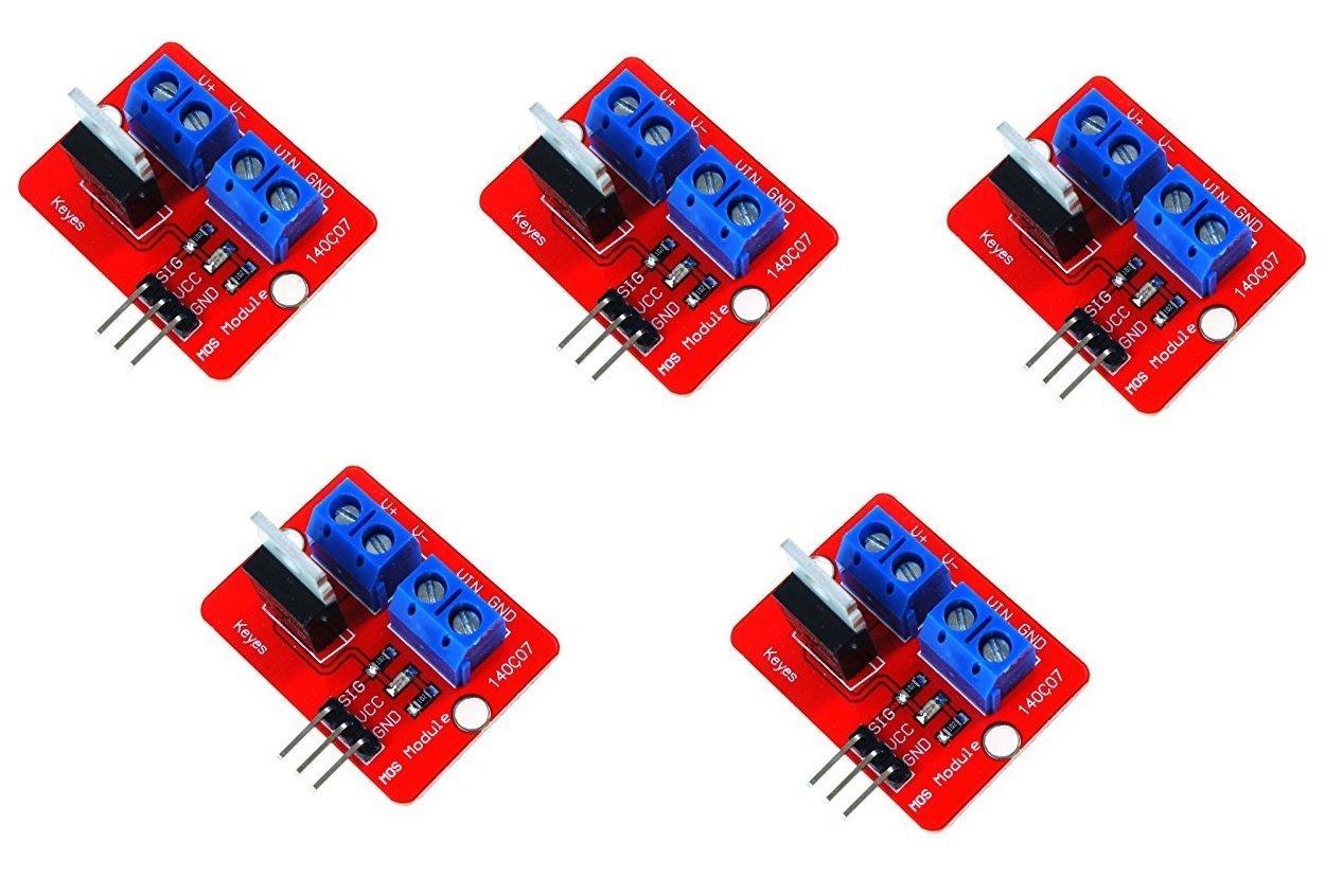 ARCELI 5Pcs IRF520 MOSFET Driver Module